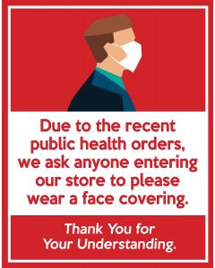Face Mask Ordinance Poster