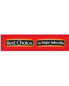 Best Choice 6'' Channel Strip - Spanish