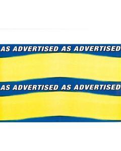 As Advertised - 61961W