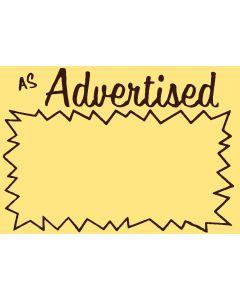 As Advertised - 61901W