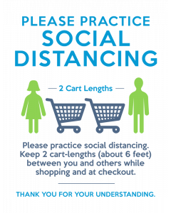 1. Practice Social Distancing Kit - Large