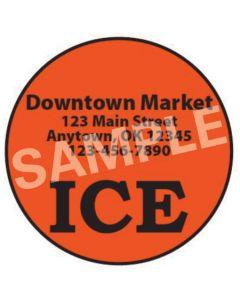 Ice Roll Label