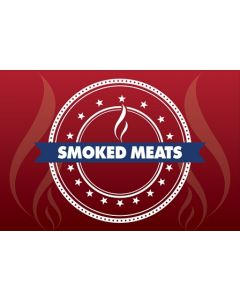 36'' x 24'' Smoked Meats - Double Sided