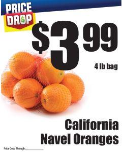 Monthly Price Drop - Navel Oranges