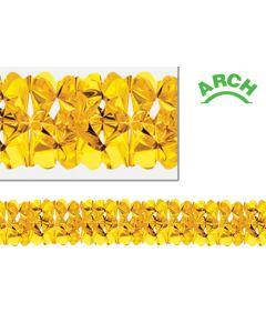 12' Metallic Gold Arch Garland - EVR-0419