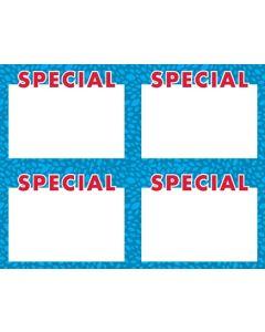 2-Color NEW Special BLUE 4 Up - BRSP4U
