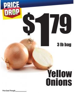 Monthly Price Drop - Yellow Onions