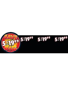 5 For $19.99 5'' x 16'' Meat Divider