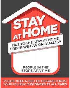 11. Stay At Home Iron Man Sign