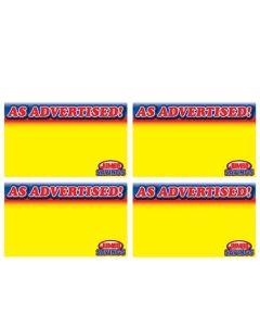 Jumbo Foods As Advertised - 4 Up - JFA4