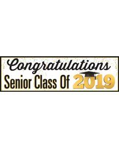 Banners 18'' x 60'' 2019 Graduation - A