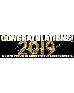 Banners 18'' x 60'' 2019 Graduation - B