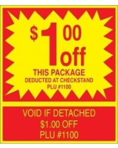 ADV Label $1.00 Off Package Coupon