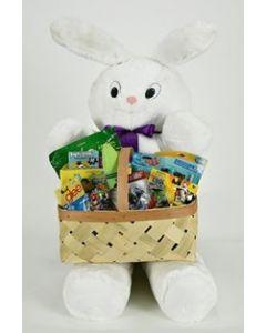 3FT Harder Plush Bunny W/ Toy Basket