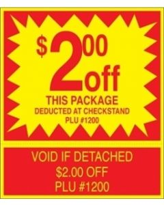 ADV Label $2.00 Off Package Coupon