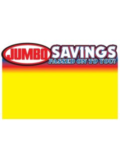 Jumbo Foods Savings - 1 Up - JFS1