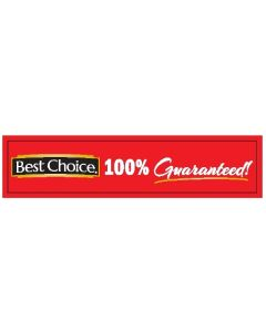 Best Choice 6'' 100% Guaranteed Channel Strip - English