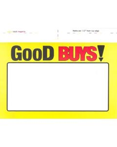 Good Buys PAPER Tags - 61953W