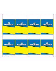 As Advertised - 61930
