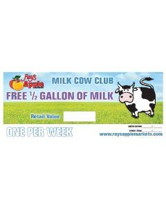 Rays Apple Milk Club 1/2 Gallon Pads