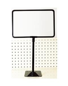 Adjustable Metal Sign Frame Black - SF-A-117