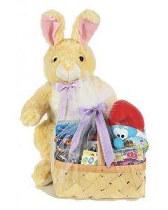3FT Plush Bunny W/ Toy Basket