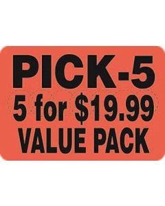 5 For $19.99 Value Pack - ADV Label