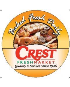 Crest Bakery Label - CRTBAKERY