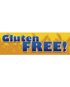 Gluten Free - GF-006 Static Cling