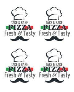 Pizza Label - PZA001 - Main