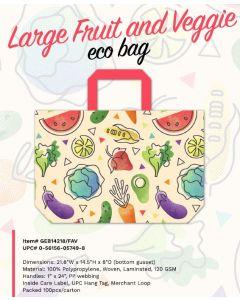 Tote Bags - Large Fruit/Veggie Eco Bag - 0-56156-05749-8