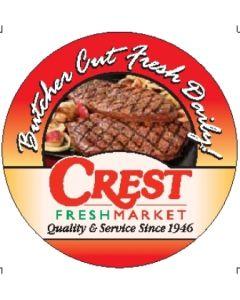 Crest Meat Label - CRTMEAT