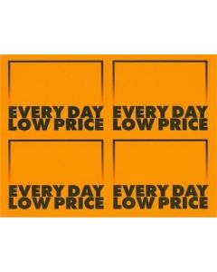 1-Color AWG Everyday Low Price Orange - 4 UP
