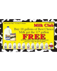 Bill's Supermarket Milk Club