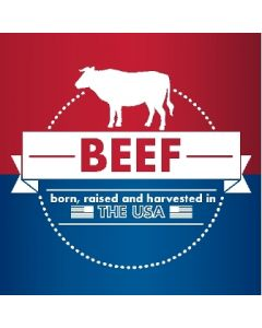 4-Color USA Beef Chicken Pork - USABCP