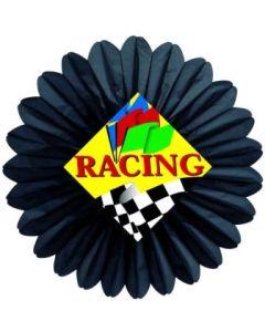 Auto Racing-Racing Flag Fan