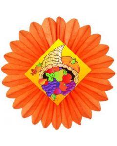 Autumn/Thanksgiving-Cornucopia Fan