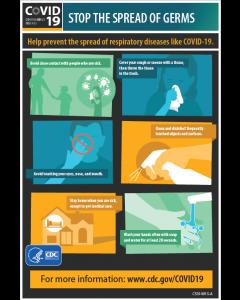 7. COVID-19 Awareness Poster