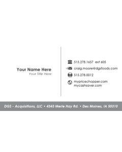 CS/PC Business Card – DGS Corporate Business Card