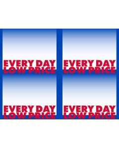 2-Color Every Day Low Price 4-Up - EDLP4U