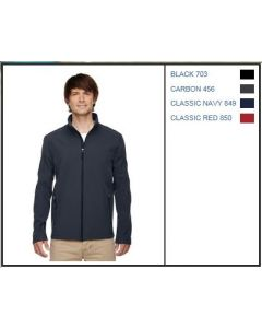 88184-Core 365 Men's Cruise Two Layer Fleece Bonded Soft Shell Jacket
