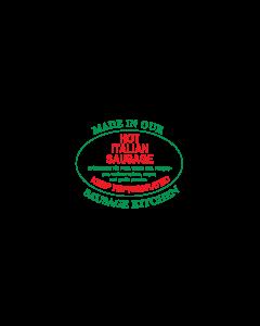 ADV LABEL - Hot Italian Sausage SL594HIS