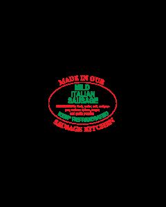 ADV LABEL - Mild Italian Sausage SL594MIS