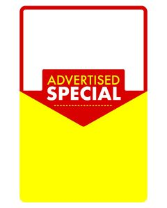Advertised Special Poster