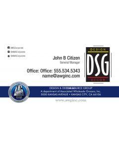 DSG AWG Business Card 2017