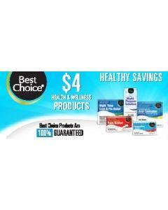 $4 Health & Wellness Channel Strips
