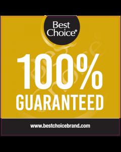 Best Choice 100% Guaranteed Dangler
