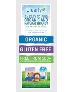 Clearly Organic Vertical Display Panel