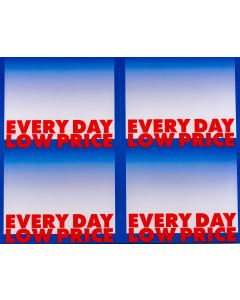 2-Color Every Day Low Price - 4-UP - MINIMUM 50 PACKS