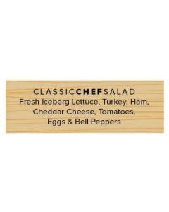 Salad Labels - Classic Chef - CCW